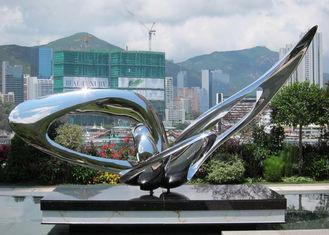Contemporary Modern Stainless Steel Sculpture , Large Garden Metal Art Sculpture