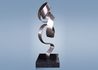 Special Shape Stainless Steel Abstract Sculpture / Abstract Yard Sculptures