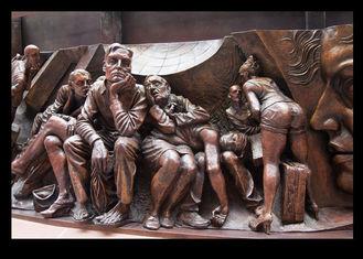 Vivid High Relief Sculpture Figure , Famous Relief Sculpture European Style