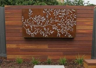 Uniqu Wall Mounted Metal Sculpture , Modern Abstract Metal Wall Art Sculpture