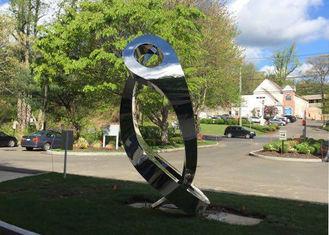 Contemporary Outdoor Metal Statues Lover Large Garden Sculptures